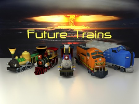 Future Trains - ipad