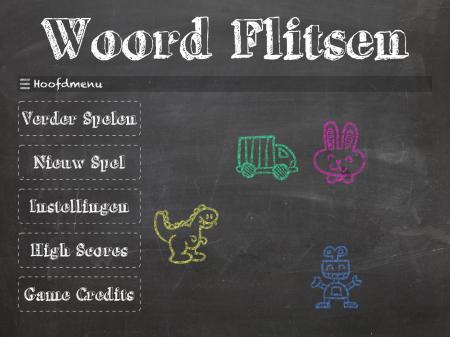 Woord Flitsen - ipad2